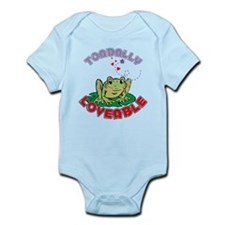 Toadally Loveable Infant Bodysuit
