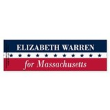 Warren for Massachusetts Bumper Sticker