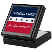 Warren for Massachusetts Keepsake Box
