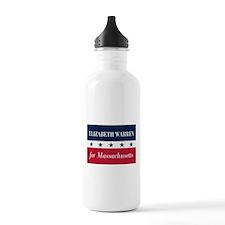 Warren for Massachusetts Water Bottle
