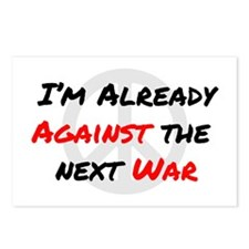 Already Against War Postcards (Package of 8)
