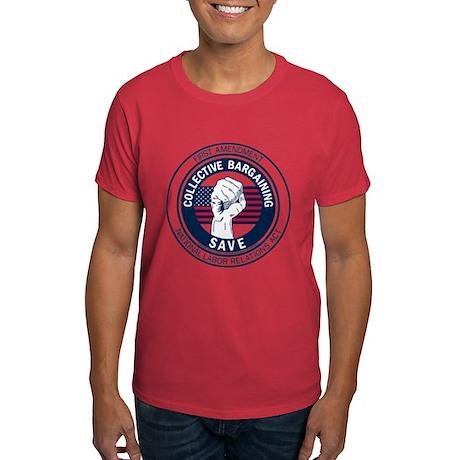 Save Collective Bargaining Dark T-Shirt