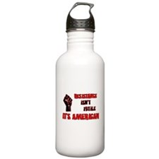 Resistance It's American Water Bottle
