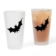 Bat Silhouette Drinking Glass