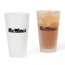Funeral Procession Drinking Glass