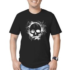 Sprayed Skull T