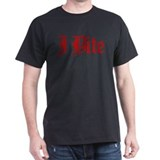 Text I Bite T-Shirt
