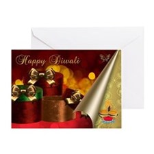 Diwali Greeting Card With Gifts