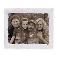 Custom photo Throw Blanket