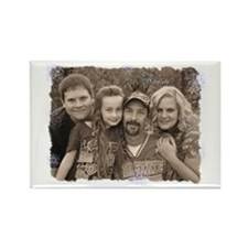 Custom photo Rectangle Magnet