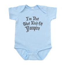 im-not-that-kind-of-vampire_bl.png Infant Bodysuit
