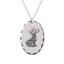 Jackalope Necklace
