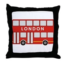 Double Decker Throw Pillow
