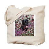 Abby in Flowers Tote Bag