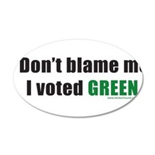 dontblameme_green.png Wall Decal