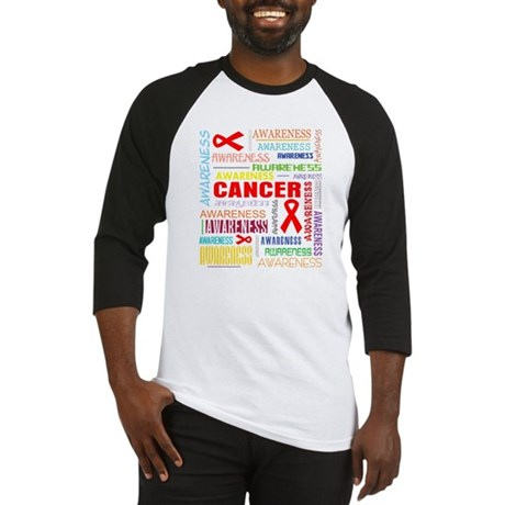 Blood Cancer Awareness Collage Baseball Jersey