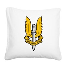 SAS badge Square Canvas Pillow