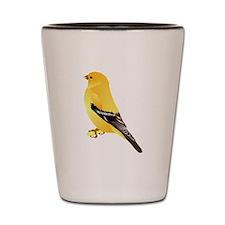 Gold Finch Shot Glass