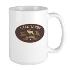 Lake Tahoe Belt Buckle Badge Mug