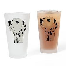 Dalmatian Dog Drinking Glass
