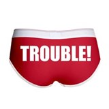 Trouble Ladies Boy Shorts