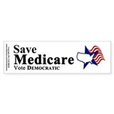 Save Medicare Democratic Bumper Sticker