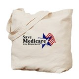 Save Medicare Democratic Tote Bag