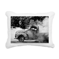 Burnout Rectangular Canvas Pillow