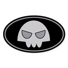 Buford's Skull Decal