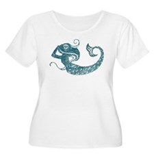 Worn Mermaid Graphic T-Shirt