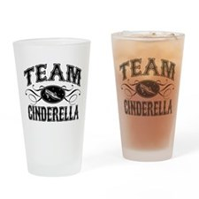 Team Cinderella Drinking Glass