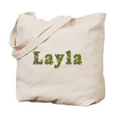 Layla Floral Tote Bag