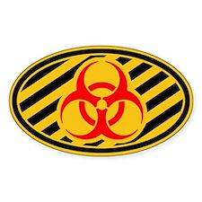 Biohazard Symbol Decal