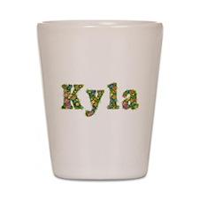 Kyla Floral Shot Glass