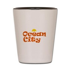 Ocean City NJ. Shot Glass
