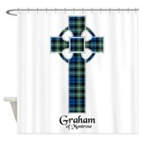 Cross - Graham of Montrose Shower Curtain