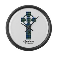 Cross - Graham of Montrose Large Wall Clock
