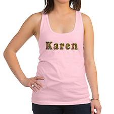 Karen Floral Racerback Tank Top