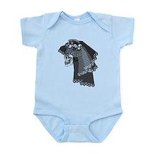 Skull Bride Infant Bodysuit
