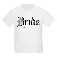 Gothic Text Bride T-Shirt