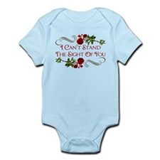 I Can't Stand The Sight Of You Infant Bodysuit