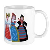 Six Women Dancing Mug