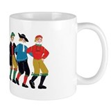 Six Men Dancing Mug