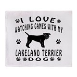 Lakeland Terrier Throw Blanket
