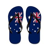 Australia Flag Flip Flops