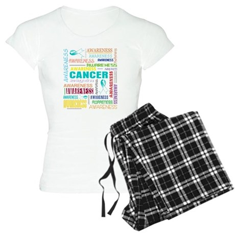 Cervical Cancer Awareness Collage Women's Light Pa