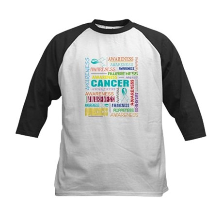 Cervical Cancer Awareness Collage Kids Baseball Je