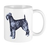 Kerry Blue Portrait Small Mug