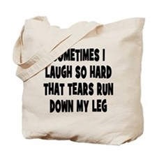 Laughter and Tears Tote Bag