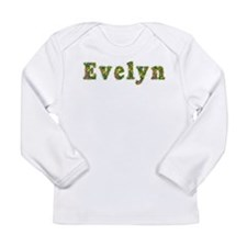 Evelyn Floral Long Sleeve Infant T-Shirt